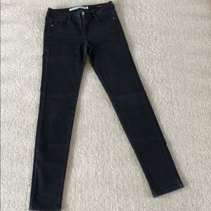 Zara Faded black skinny jeans